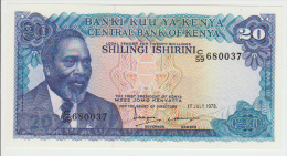 Kenya 20 Shilingi 1978  Pick 17 UNC - Kenya