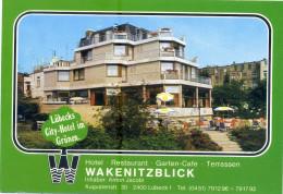 LUBECK. Hotel Restaurant WAKENITZBLICK. No Posted. - Luebbecke