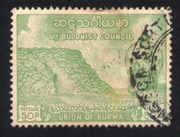 Birmanie Oblitéré Rond Used Stamp Union Of Burma 6th Buddhist Council - Buddhism
