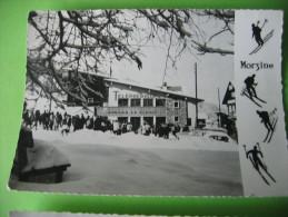 74 MORZINE TELEPHERIQUE DU PLENAY 1959 ANIMEE - Morzine
