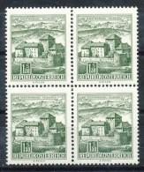 ÖSTERREICH  - Mi.Nr.:  1232  - 4 Er Block -    Postfrisch     Bauwerke. - 1945-.... 2. Republik