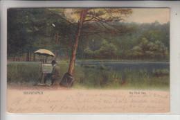 1000 BERLIN - GRUNEWALD, Am Pech See, Maler, 1912 - Grunewald