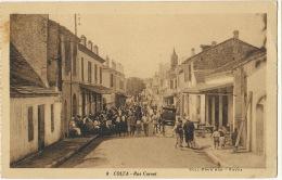 8 Colea Kolea Rue Carnot Coll Prud'hon Fouka  Cachet 9 Eme Regiment Zouaves Kolea - Otras Ciudades