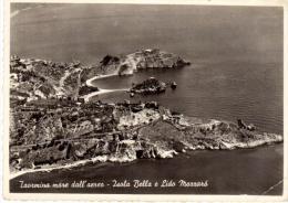 CO188 Taormina Mare Dall' Aereo, Isola Bella E Lido Mazzaro - Messina