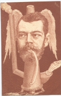Illustrateur ORENS Eau Fortes  Nicolas II - Sátiras