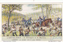 Liebig S1706 Artillery No 2 Battaglia Di San Martino - Liebig