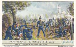 Liebig S1706 Artillery No 3 Battaglia Di San Lucia - Liebig