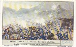 Liebig S1706 Artillery No 4 Difesa Del Colle Authion - Liebig
