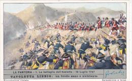 Liebig S1688 Infantry No 1 La Battaglia Dell'Assietta 19 Luglio 1747 - Liebig