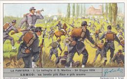 Liebig S1688 Infantry No 2 La Battaglia Di San Martino 24 Giugno 1859 - Liebig