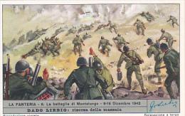 Liebig S1688 Infantry No 6 La Battaglia Di Montelungo 8-16 Dicembre 1943 - Liebig