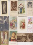 23 PETITES IMAGES RELIGIEUSES - Images Religieuses