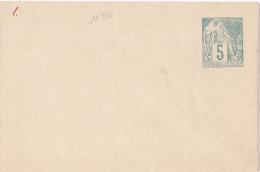 11966# COLONIES GENERALES ENVELOPPE 116 * 76mm RABAT NON COLLE ENTIER POSTAL NEUF ALPHEE DUBOIS - Alphée Dubois