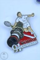 Roland Garros 1991 Tennis - Canon Camera Advertising - Pin Badge #PLS - Tenis