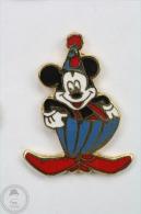 Walt Disney Mickey Mouse With Clown Hat  - Pin Badge #PLS - Disney
