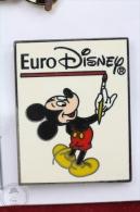 Walt Disney Mikey Mouse - Euro Disney - Pin Badge #PLS - Disney