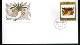 CANADA, 1993, OFDC # 1466. MASTERPIECES OF CANADIAN ART: Drawing For The Owl - Premiers Jours (FDC)