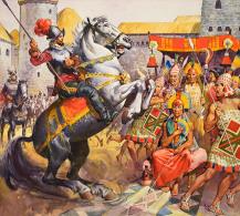 @@@ MAGNET - Conquistadors And Incas - Publicitaires