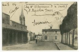 ST-MICHEL En L'HERM. - La Rue Principale - Saint Michel En L'Herm
