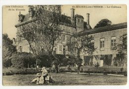 ST-MICHEL En L´HERM. - Le Château - Saint Michel En L'Herm