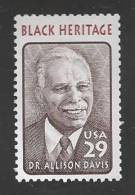 1994 29 Cents Davis, Mint Never Hinged - United States