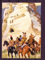 Karl May Postkarte: Orania - Verlag I/5 - UNTER GEIERN - Indianer