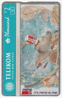 PAPUA NEW GUINEA - Pepsi Cola/Can-light Blue, CN : 512L, Tirage 10000, Mint - Papua New Guinea