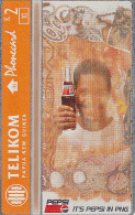 PAPUA NEW GUINEA - Pepsi Cola/Bottle-orange, CN : 512L, Tirage 10000, Mint - Papua New Guinea