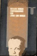 """""""CONVERSACIONES CON JORGE LUIS BORGES"""" DE RICHARD BURGIN EDIT. TAURUS AÑO 1969 PAG. 159 UN CLÁSICO INFALTABLE!  GECKO. - Littérature"""