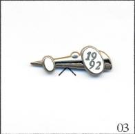 Pin´s - Automobile - Salon De L' Automobile 1992 - Version Chromée. Est. Arthus Bertrand Paris. Zamac. T209-03 - Altri
