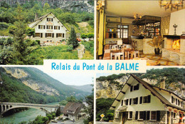 CPM  De  YENNE (73)  -  RELAIS Du Pont De La Balme  - Bar, Hôtel Restaurant  //  TBE - Yenne