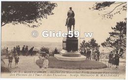 MONT-CASSEL - Statue Du Maréchal Foch, Face Au Panorama Des Plaines De L'Yser Et Des Flandres (animée) - N° L. P. 7 - Cassel