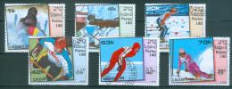 LAOS - Mi-Nr. 1060 - 1065 Olympische Winterspiele, Calgary Gestempelt - Winter 1988: Calgary