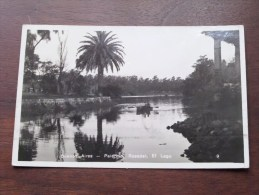 Palermo Rosedal El Lago - Buenos Aires - Anno 1937 ( Zie Foto Voor Details ) !! - Argentina