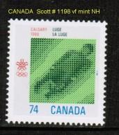 CANADA    Scott  # 1198**  VF MINT NH - 1952-.... Reign Of Elizabeth II