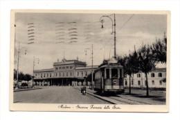 MODENA - STAZIONE FERROVIE DELLO STATO     TRAM    1958 - Modena