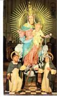 POSTAL   VIRGEN DEL ROSARIO - Virgen Maria Y Las Madonnas