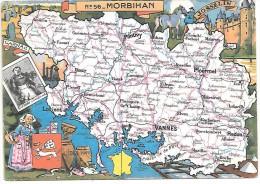 MORBIHAN - 56 - Landkarten