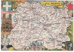MARNE - 51 - Landkarten