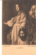 POSTAL   LA GIUDITTA  - CRISTOFANO ALLORI  - GALERIA PITTI -FIRENZE - Museos