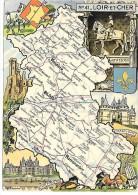 LOIR ET CHER - 41 - Landkarten