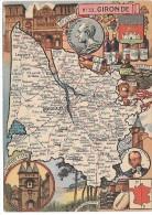 GIRONDE - 33 - Landkarten