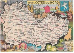 COTES DU NORD - 22 - Landkarten