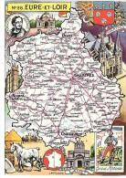 EURE ET LOIR - 28 - Landkarten