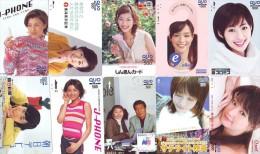 LOT 10 Telecartes Differentes Japon * FEMME Femmes (523) SEXY GIRL Girls Phonecards Japan * TELEFONKARTEN FRAUEN FRAU - Tarjetas Telefónicas