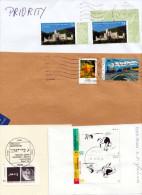BRD - 3 Briefstücke 1 Brief Mit Mef 2011-2014 - BRD