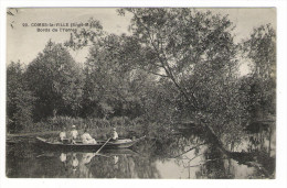 SEINE-ET-MARNE  /  COMBS-la-VILLE  /  BORDS  DE  L' YERRES  ( Barque, Canotage ) /  Edit.  M. MULARD  N° 22 - Combs La Ville