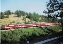 """FRANCE CIEURAC Et SEPT-PONTS (46) """"LE CAPITOLE"""" Paris-Toulouse Loco BB 9292 En 1967 Détails  2ème Scan - Trains"""