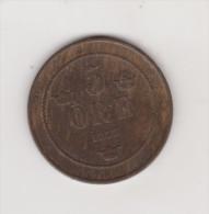 SWEDEN KM736 5 ORE 1877 XF NICE CONDITION RARE COIN - Suède