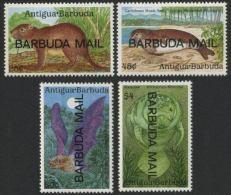 Barbuda #1093-1096, VF Never Hinged 1990 Wildlife Complete Set Of Four.  CV - Antigua Et Barbuda (1981-...)